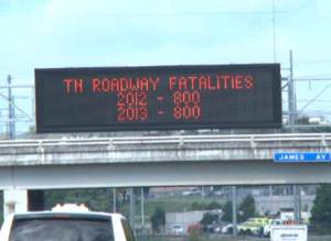 Tennessee DOT Message Signs