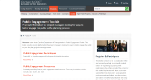 Connect NCDOT   Public Engagement Toolkit